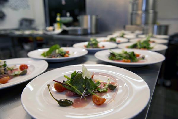 catering Feinkost auf dem Teller